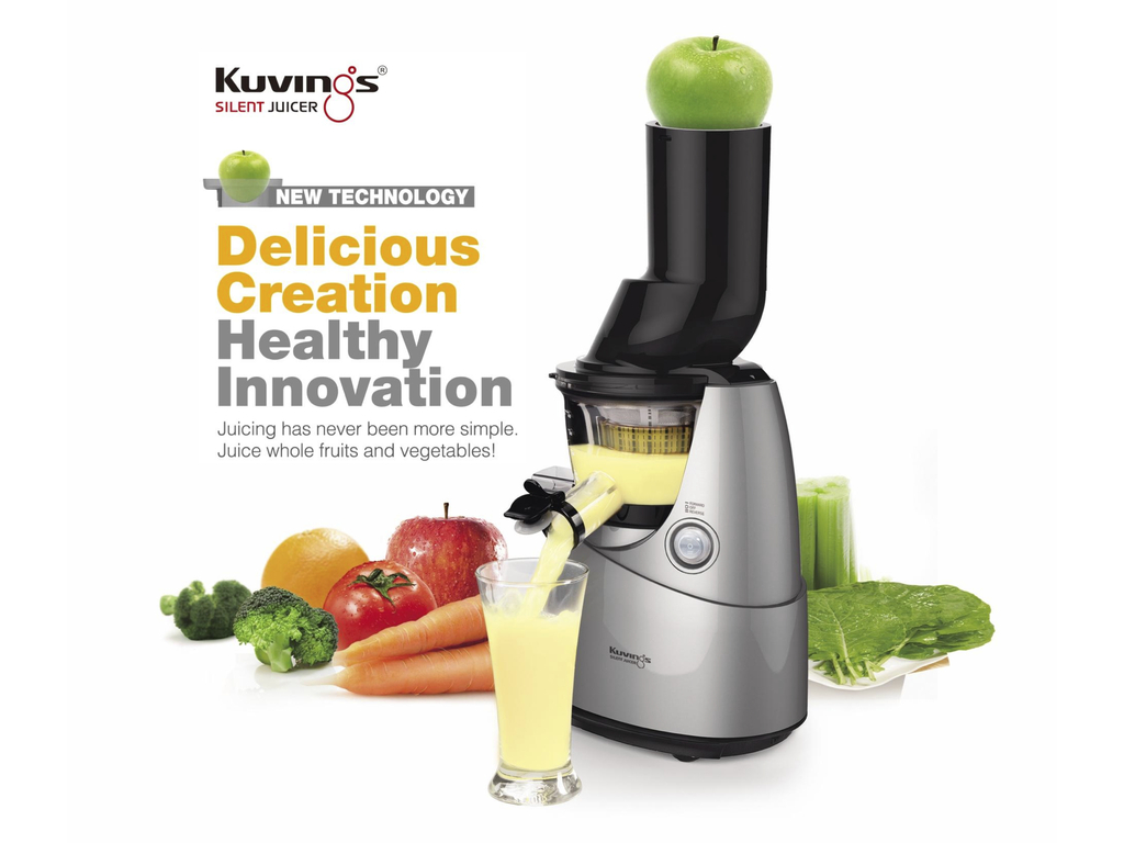 Kuvings Slow Juicer Vs Hurom : ???????? ????????????? Kuvings Whole Slow Juicer B6000PR. ?????!